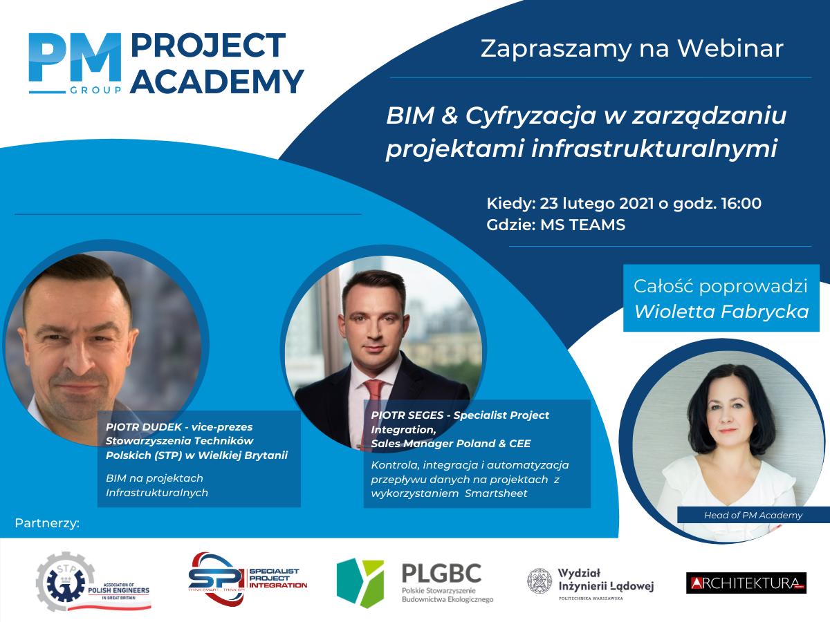 BIM & Cyfryzacja w zarządzaniu projektami infrastrukturalnymi