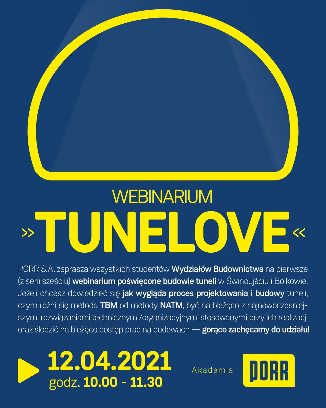 Webinarium: TUNELOVE