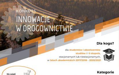 Innowacje w drogownictwie ‐ konkurs  GDDKiA, dla studentów i absolwentów