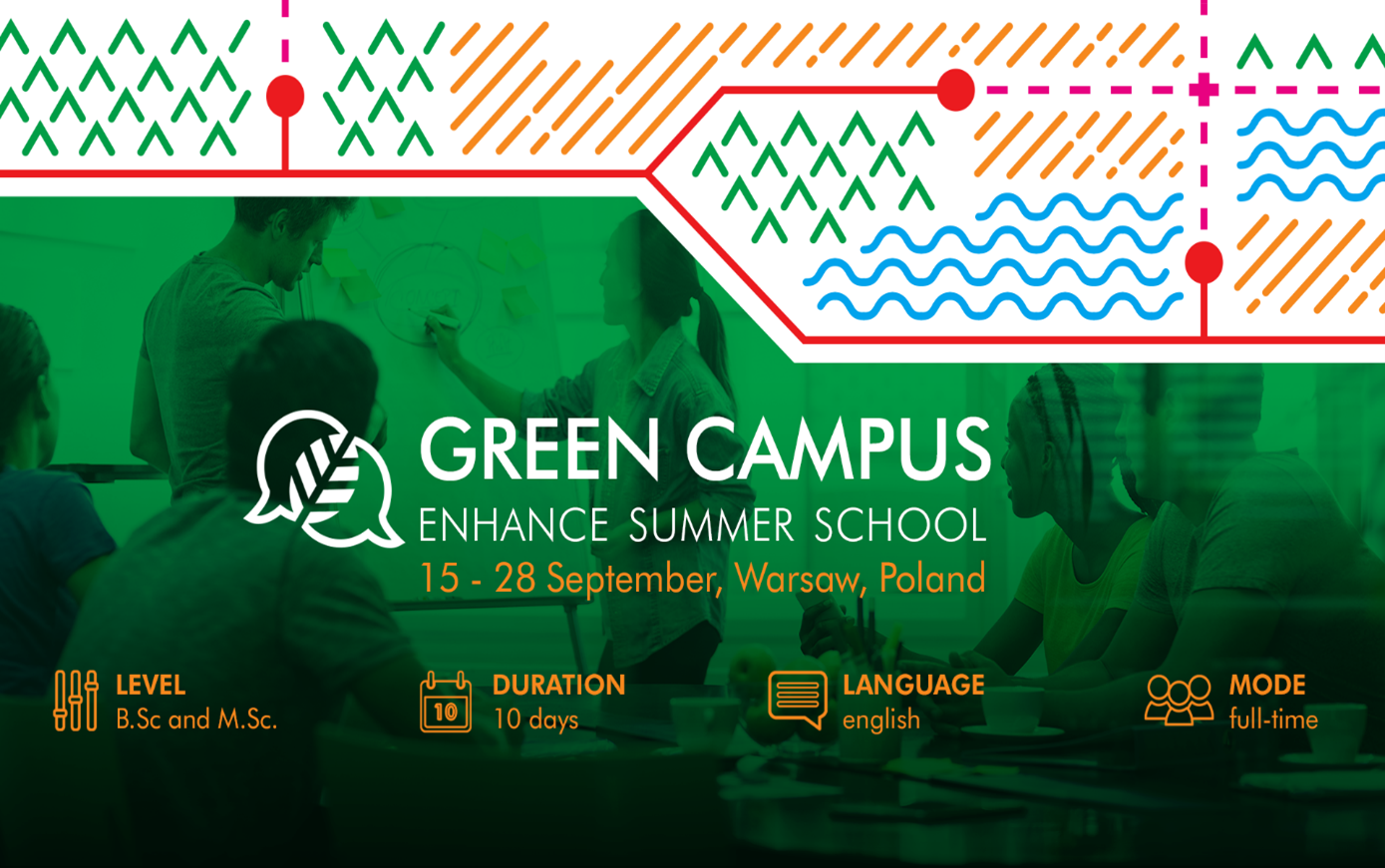 [Updated] Green Campus – ENHANCE Summer School on Climate Change