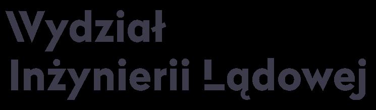 LOGO: Wydział Inżynierii Lądowej